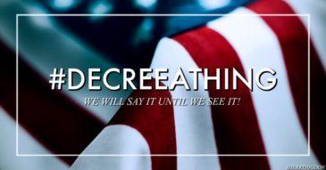 05.29.18 #DecreeAThing