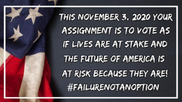 10.24.20 #FAILURENOTANOPTION