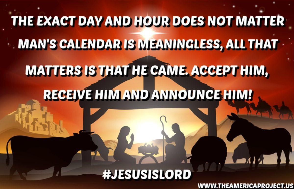12.25.18 JESUSISLORD