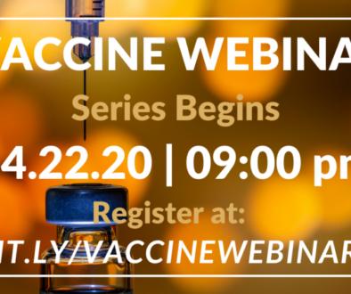 Facebook Post Vaccine Webinars